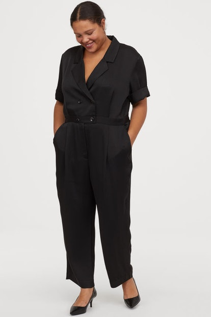 H&M+ Double-Breasted Jumpsuit