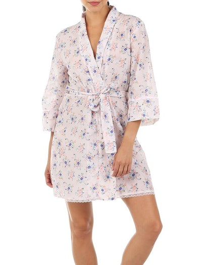 Iggy Pink Short Robe