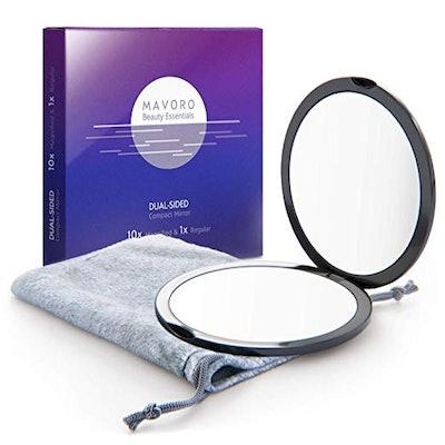 Mavoro Magnifying Compact Mirror