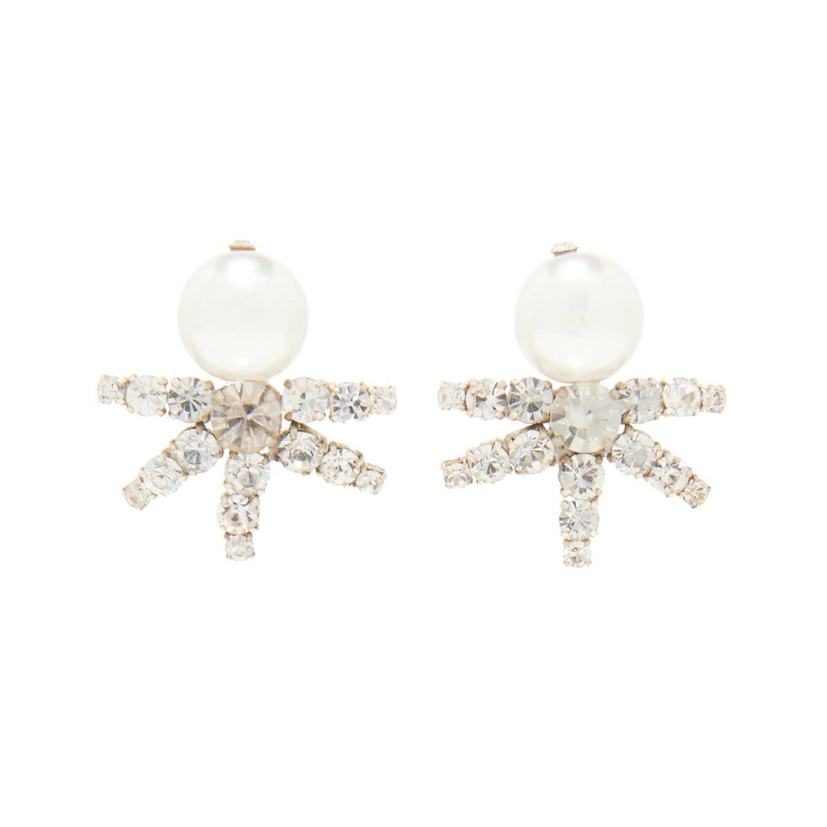 Lila Pearl Earrings