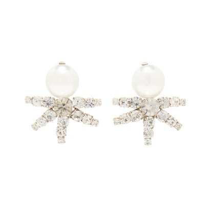 Lila Pearl Earrings