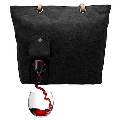 PortoVino City Wine Tote Black