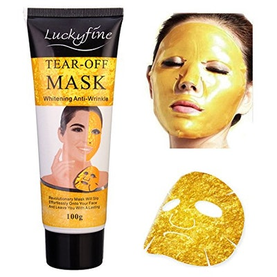LuckyFine Peel-Off Gold Mask