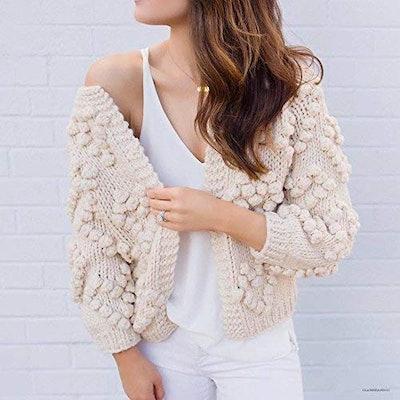 Chicwish Women's Hand-Knit Sweater