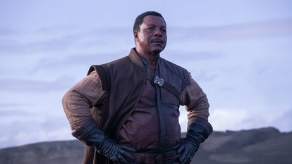 Carl Weathers plays Greef Carga in The Mandalorian.