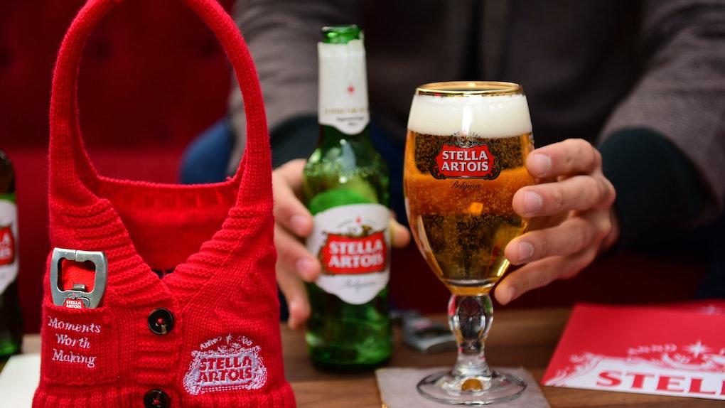 Stella Artois' Holiday Sweater Pack