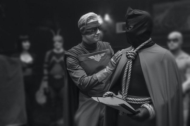 Jake McDorman plays Captain Metropolis on Watchmen.