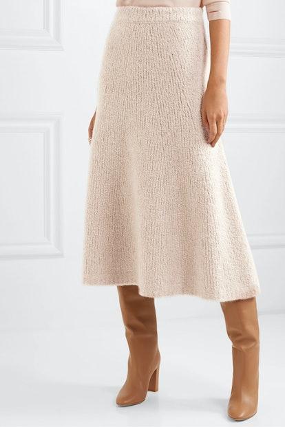 Pablo Cashmere Midi Skirt