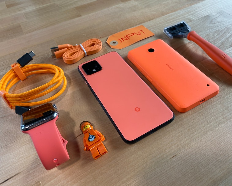 Just how orange is the Oh So Orange Pixel 4?
