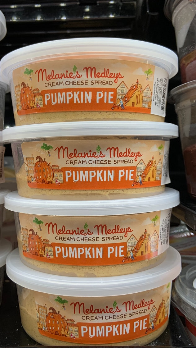 Melanie's Medleys Pumpkin Pie Cream Cheese Spread from Whole Foods