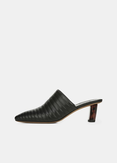 Leather Locke Mules