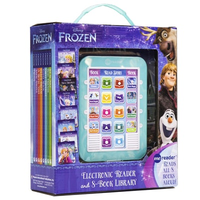 Disney - Frozen Me Reader Electronic Reader and 8 Book Library