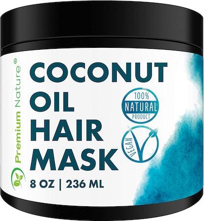 Premium Nature Coconut Oil Deep Conditioning Hair Mask Treatment