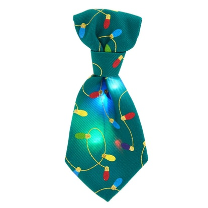 Merry & Bright™ Holiday Tie Collar Slide Accessory - LED
