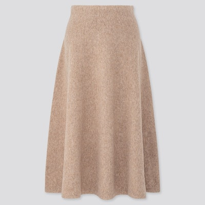 Souffle Yarn Flare Skirt