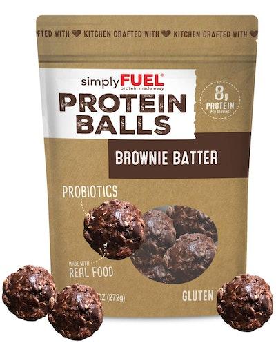 simplyFUEL Brownie Batter Protein Balls
