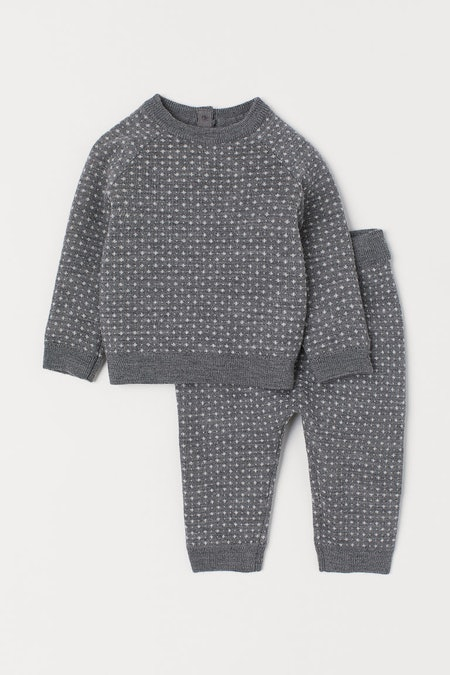 Wool Sweater & Pants Set