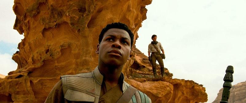 John Boyega Oscar Isaac star in 'Star Wars: The Rise of Skywalker'