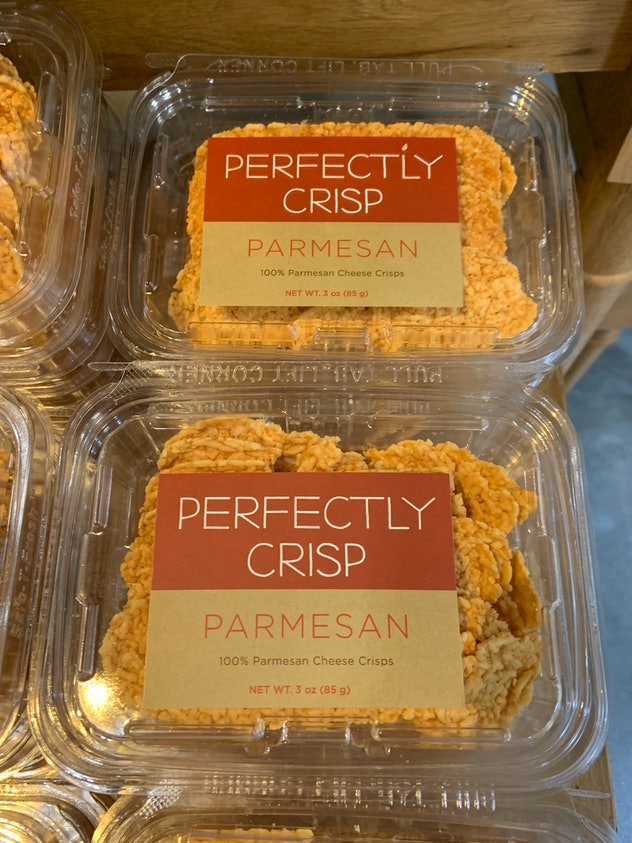 Perfectly Crisp Parmesan Cheese Crisps from Whole Foods