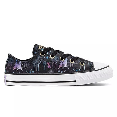 Frozen 2 Low-Top Sneakers for Kids by Converse – Black