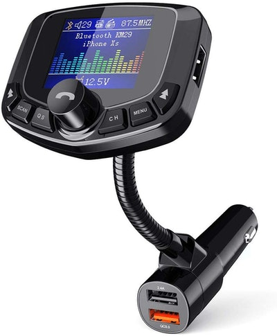 TeckNet Bluetooth FM Transmitter for Car