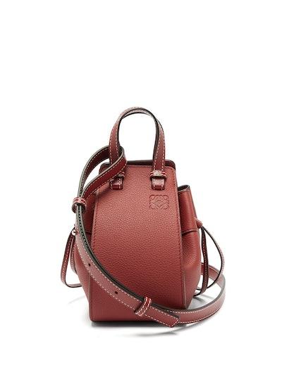 Hammock Mini Leather Crossbody Bag