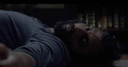 Avi Nash as Siddiq as a zombie on The Walking Dead