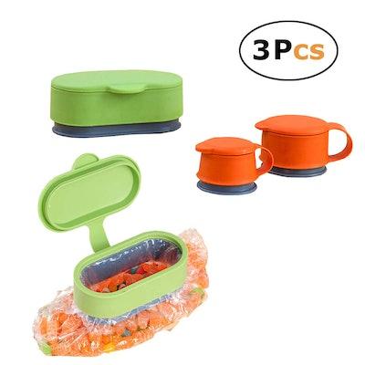 In kds Sealing Bag Caps (Set of 3)