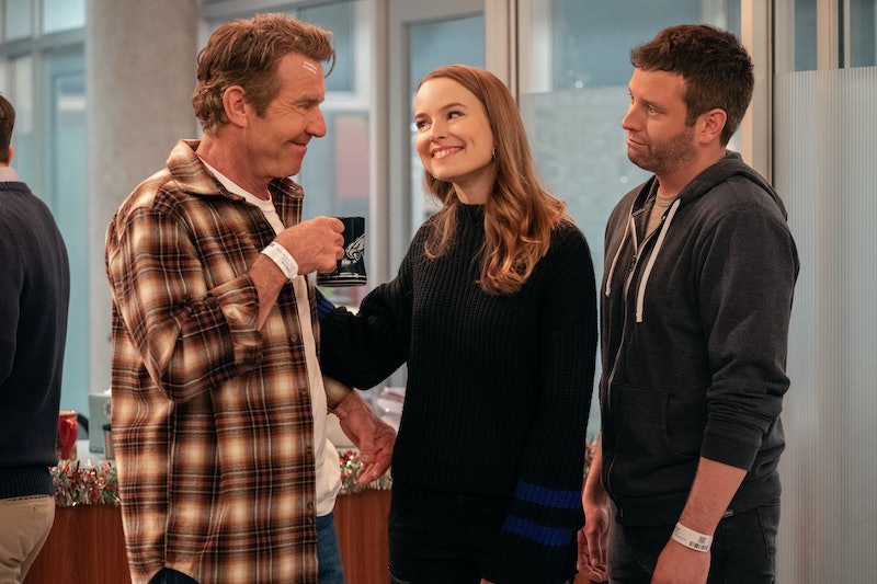 Don, Emmy, and Matt at the hospital in Merry Happy Whatever