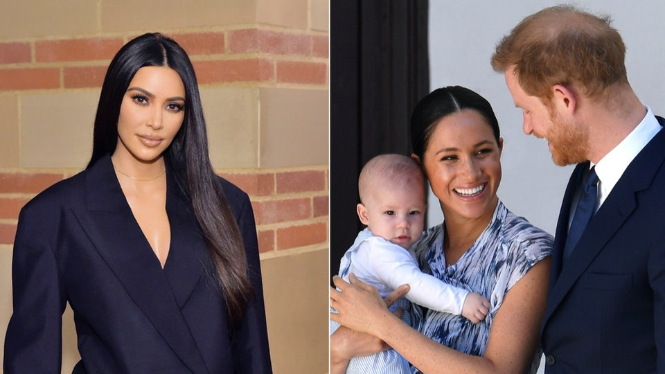 Kim Kardashian recently said she can empathizes with Meghan Markle and Prince Harry's fight for privacy as a mom herself.
