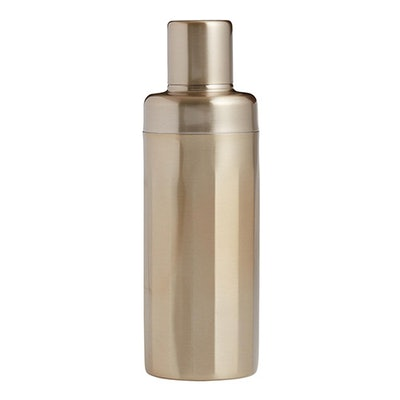 Gold Art Deco Cocktail Shaker