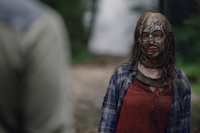 Thora Birch as Gamma in The Walking Dead Season 10 Episode 8