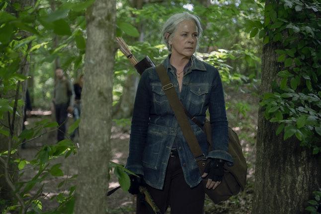 Melissa McBride as Carol Peletier in The Walking Dead Season 10, Episode 8