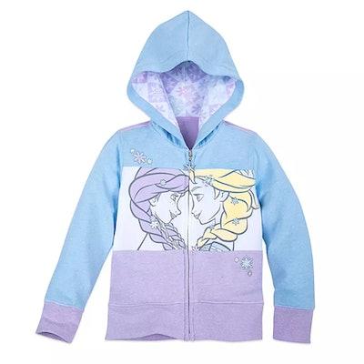 Frozen Zip-Up Hoodie for Girls