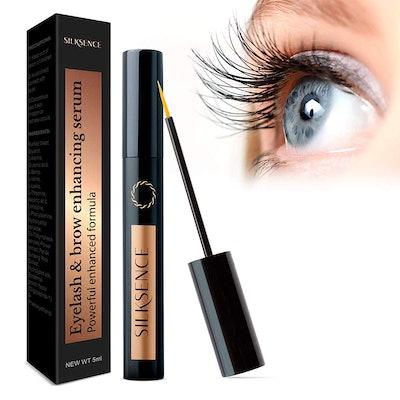 Silksence Eyelash Growth Serum for Lash and Brow