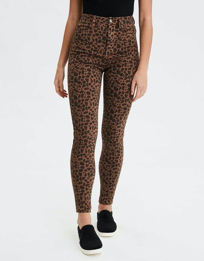 """360 Ne(X)t Level Curvy Super High-Waisted Jegging in """"Brown"""""""