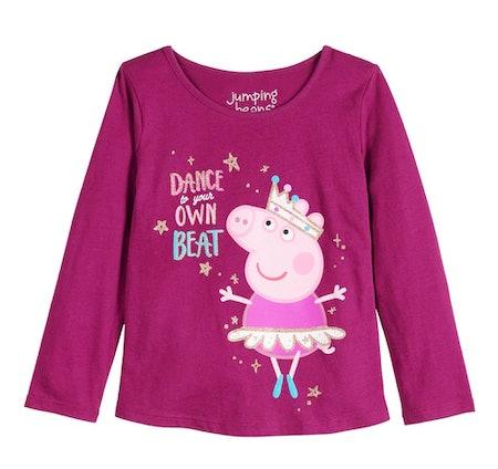 Toddler Girl Jumping Beans Peppa Pig Own Beat Tee