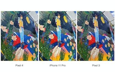 Pixel 4 vs. iPhone 11 Pro vs. Pixel 3 camera comparison