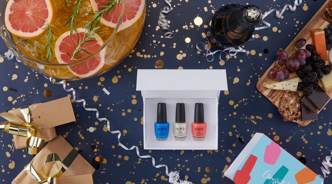 OPI's new customized gifts and party favors for the 2019 holiday season