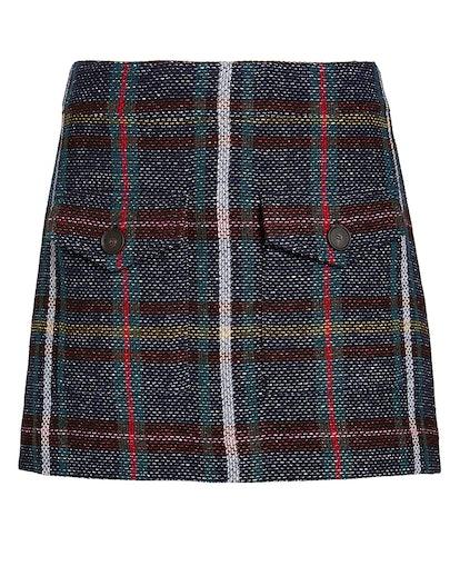 Lucy Rustic Plaid Mini Skirt
