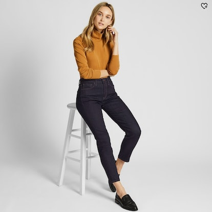 Women Compression High-Rise Skinny Ankle Jeans