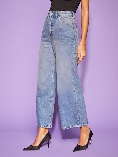 Jackie Ultra High Rise Crop Jean