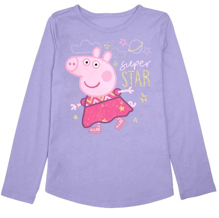 Toddler Girl Jumping Beans Peppa Pig Graphic Tee