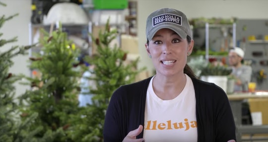 Chip and Joanna Gaines already have their Christmas tree up in their family home days before Thanksgiving.