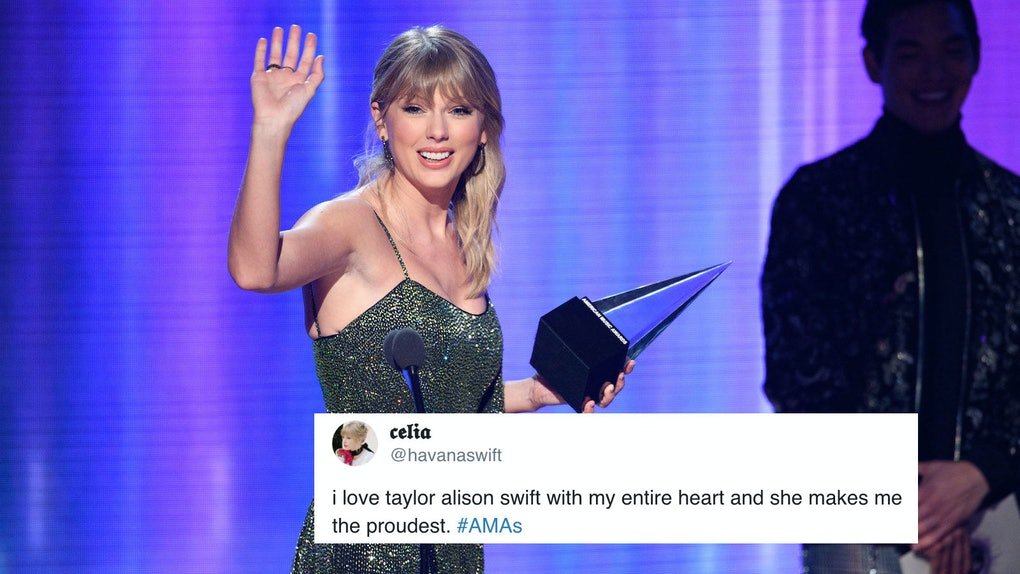 Taylor Swift won the Artist of the Decade Award at the 2019 American Music Awards.