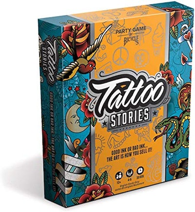 Bicycle Tattoo Stories - A Party Game