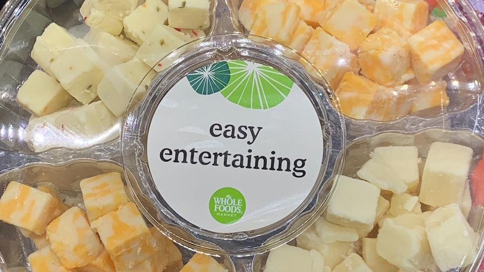 Whole Foods Easy Entertaining Cheese Tray