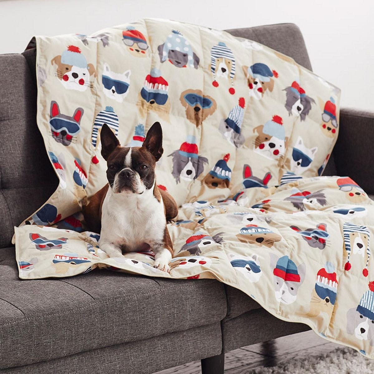 LoftAIRE Printed Dog Comforter
