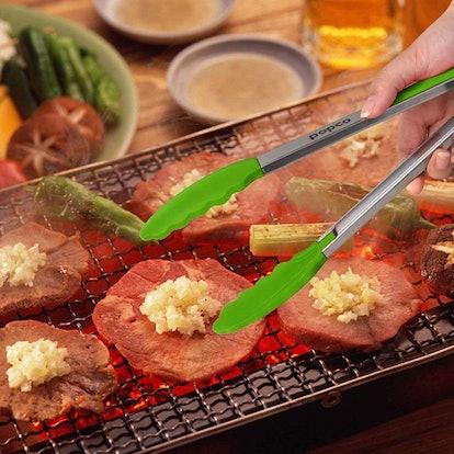 POPCO Heavy-Duty Kitchen Tongs (3Pack)