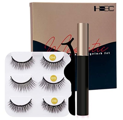 Coolours Magnetic Eyeliner and Lashes Magnetic Kit